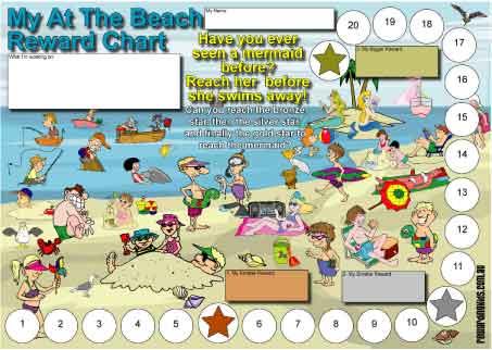 beach reward chart