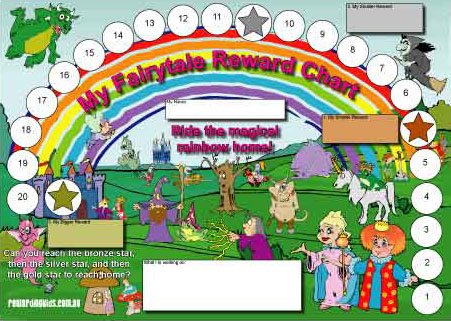 fairytale reward chart